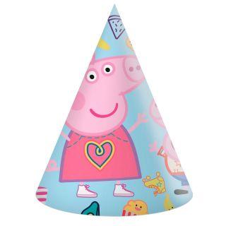 Peppa Pig Party hats, 6pcs