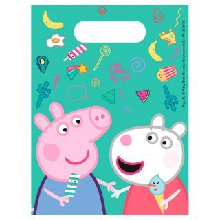Hand-out bags Peppa Pig, 8st.
