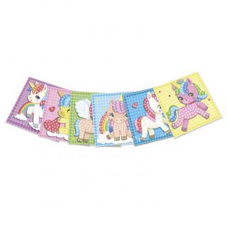 PlayMais Mosaic Cards Decorate Unicorn