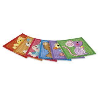 PlayMais Mosaic Cards Decorate Little Friends