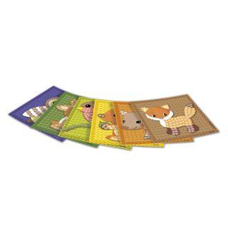 PlayMais Mosaic Cards Decorate Forest
