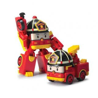 Robocar Poli Transforming Robot-Roy
