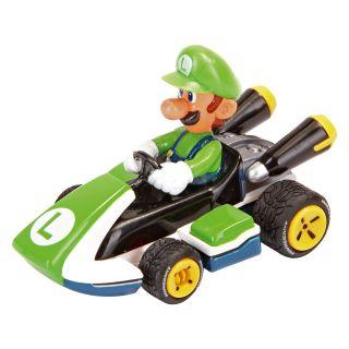 Pull Back Super Mario Map - Luigi