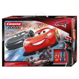 Carrera GO !!! Racetrack - Cars Let's Race!
