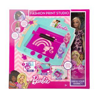 Barbie Fashion Print Studio with Barbie Doll