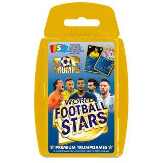 Top Trumps World Football Stars Card Game