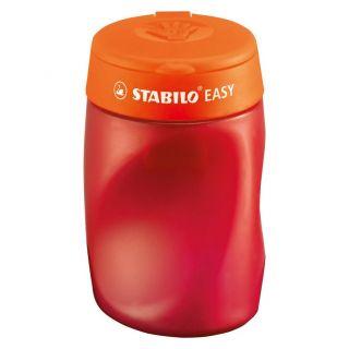 Stabilo Easy Right 3-in-1 Sharpener-Red