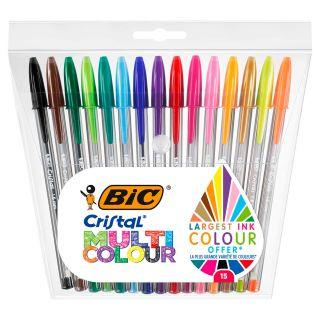 BIC Cristal Ballpoint Pens, 15pcs.