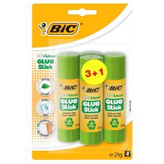 BIC Eco Glue Sticks, 4pcs.