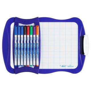 BIC Velleda Whiteboard with 8 Markers