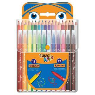 BIC Kids Color Set, 30 pcs.