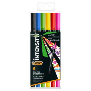 BIC Intensity Felt-tip pens with Double Point