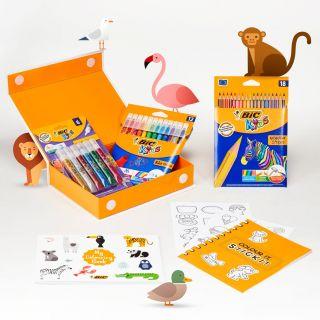 BIC Kids Color box Animals
