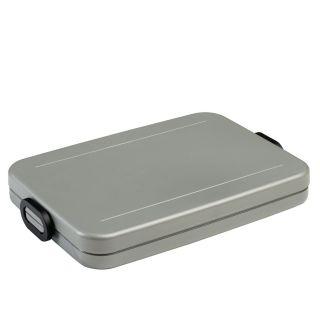 Mepal Lunchbox Take a Break Flat-Silver