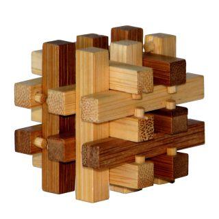 3D Bamboo Brain puzzle Slide ****