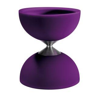 Rubber Diabolo-purple (excl. sticks)