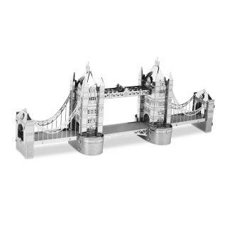 Metal Earth London Tower Bridge Silver Edition