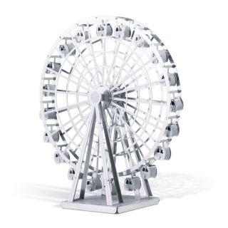 Metal Earth Ferris Wheel Silver Edition