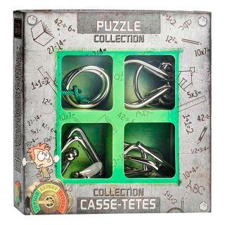 Metal Brain Puzzles Junior, 4pcs.