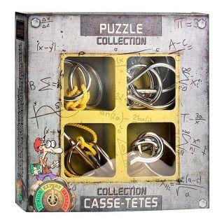 Metal Brain Puzzles Expert, 4pcs.