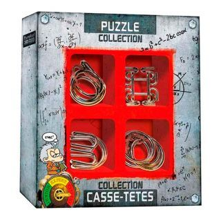 Metal Brain Puzzles Extreme, 4pcs.