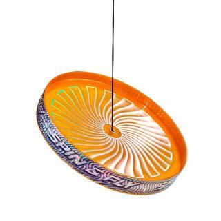 Acrobat Spin & Fly Juggling Frisbee - Orange
