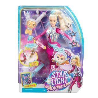 BARBIE Galaxy Barbie Doll & Flying Lemur