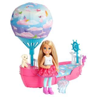 Dreamtopia Barbie - Chelsea's Magical Dream Boat