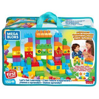 Mega Bloks - Let's learn Tas, 150dlg.