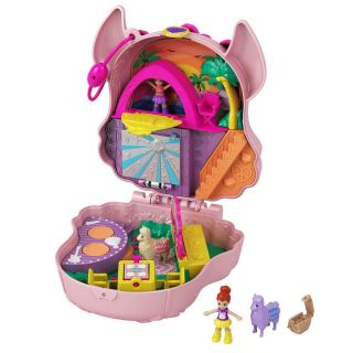Polly Pocket Compact Playcase Lama Music Festival