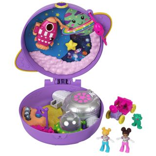 Polly Pocket Compact Play Case Saturn Space Explorers