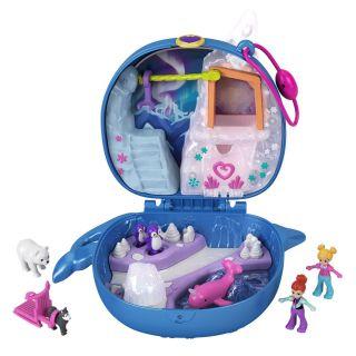 Polly Pocket Compact Playcase Arctic fun