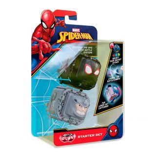 Marvel Spiderman Battle Cube - Miles Morales vs Rhino