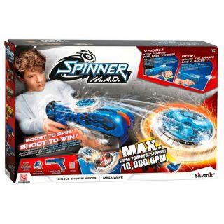 Spinner MAD Single Shot Blaster - Blue