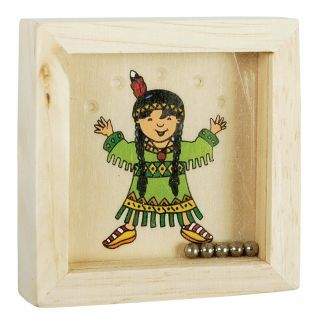 Wooden patience game Children of the world