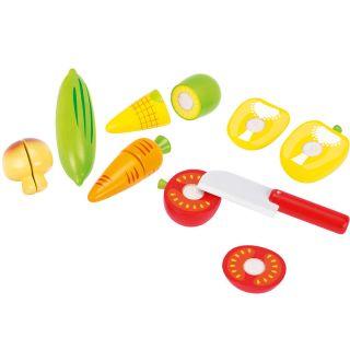 Cutting vegetables, 12dlg.