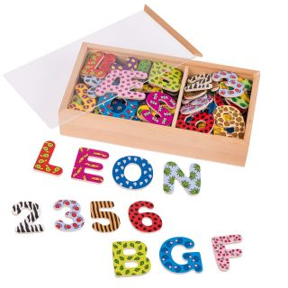 Magnetic numbers & Letters, 88dlg.