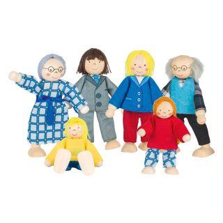 City-Doll House Family