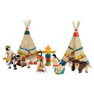 Indians camp, 14 pieces