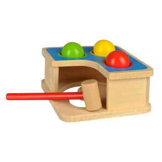 Wooden Hammer bench with Ball