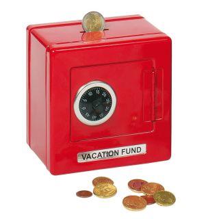 Safe Metal Red