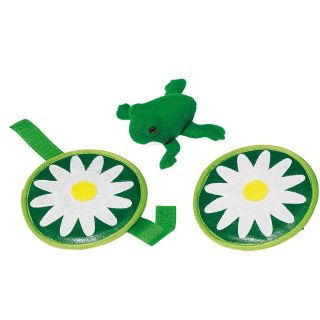 Frog Catch-throw Game with Velcro