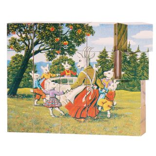Wooden Block Puzzle Fairy Tales