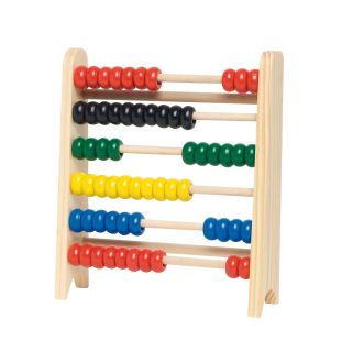 Wooden abacus, 16x18 cm