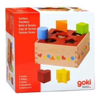 Wooden Sorting Box Base