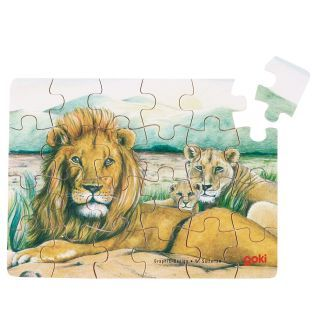 Wooden Mini Puzzle-Wild Animals