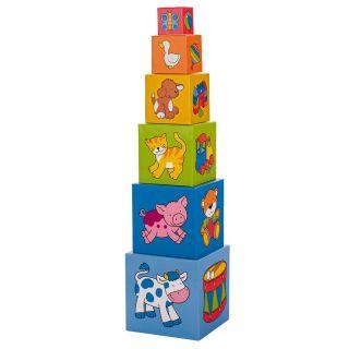 Cheerful Blocks Tower