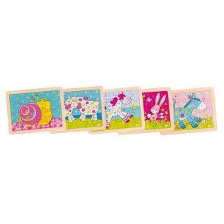Susibelle Wooden animal jigsaw puzzle, 24st.
