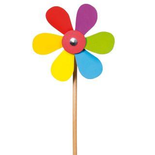 Wooden Windmill-Flower