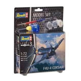 Revell Model Set F4U-4 Corsair Fighter